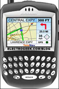 BlackBerry GPS