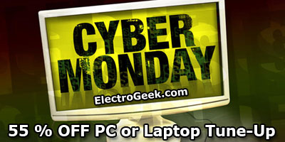 Cyber Monday 55% Off Computer Tune-Up
