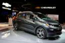 FILE PHOTO -- A 2018 Chevrolet Bolt EV is displayed during the North American International Auto Show in Detroit