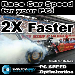Speed Test - PC Speed Optimization by ElectroGeek