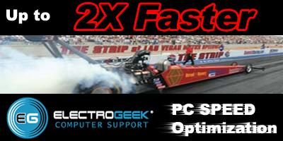 Speed Test - PC Optimization by ElectroGeek