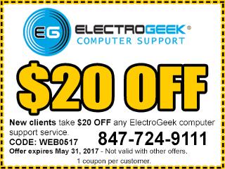 electrogeek computer repair discount coupon